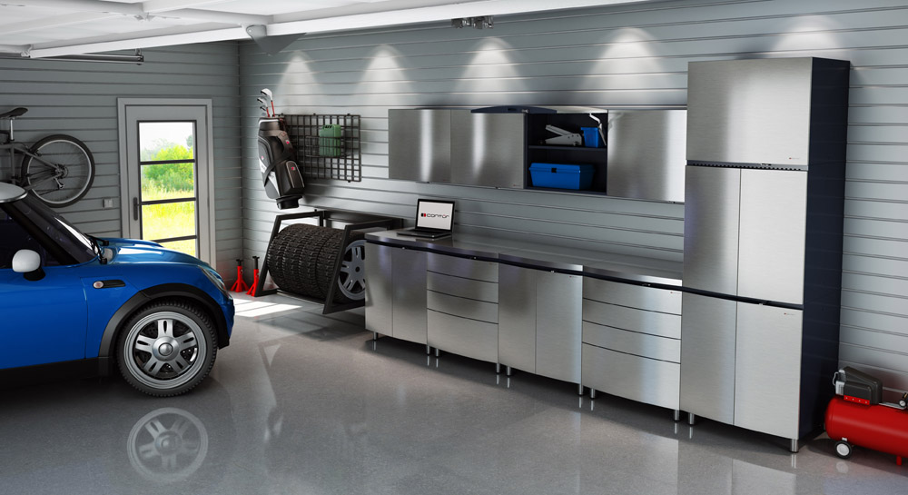 Garage Design Ideas Pictures cool garage interiors 25 Garage Design Ideas 10
