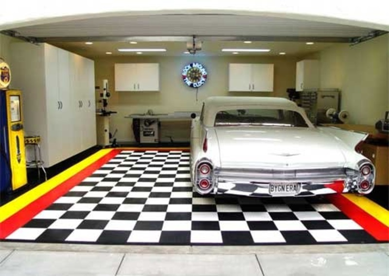25 garage design ideas for your home for Garage designs interior ideas