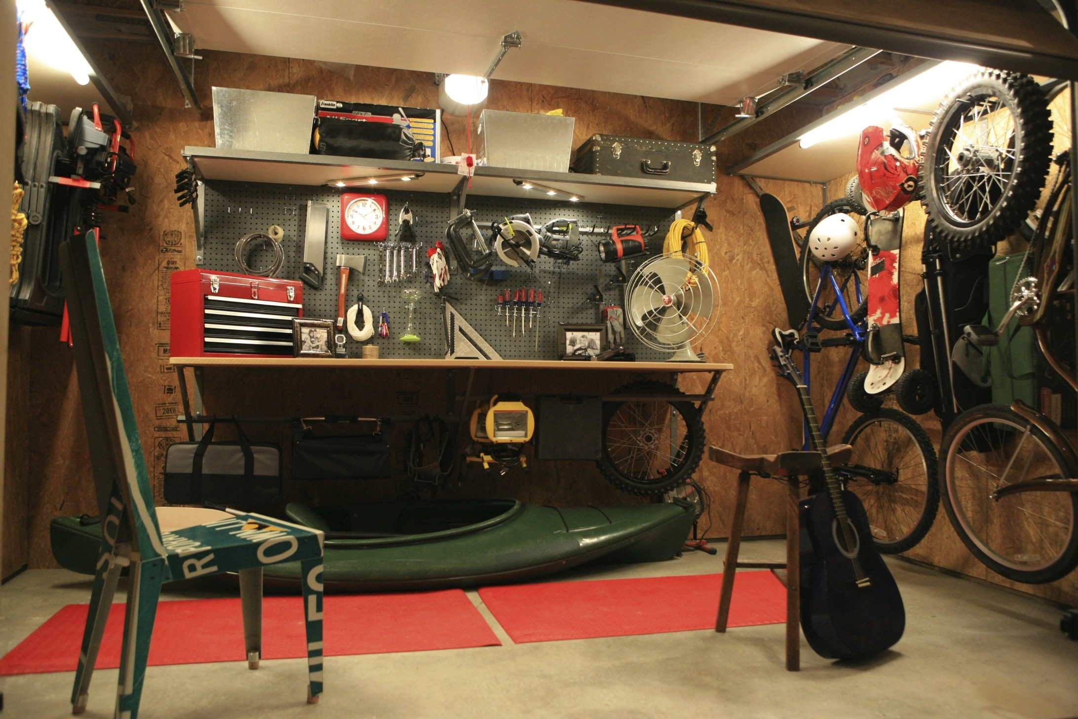 ... 25 garage design ideas (15) ...