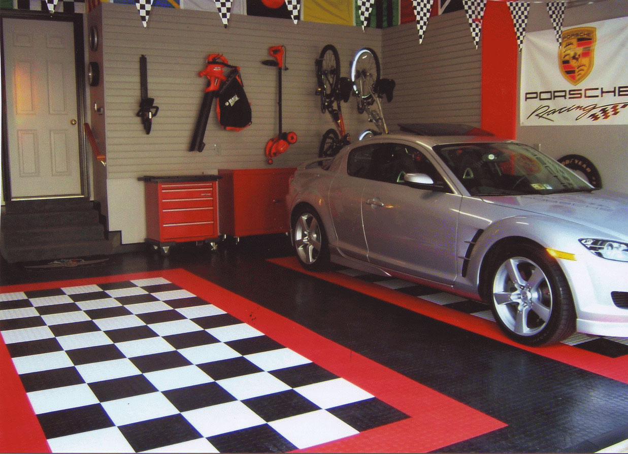 25 garage design ideas for your home for How to decorate your car interior