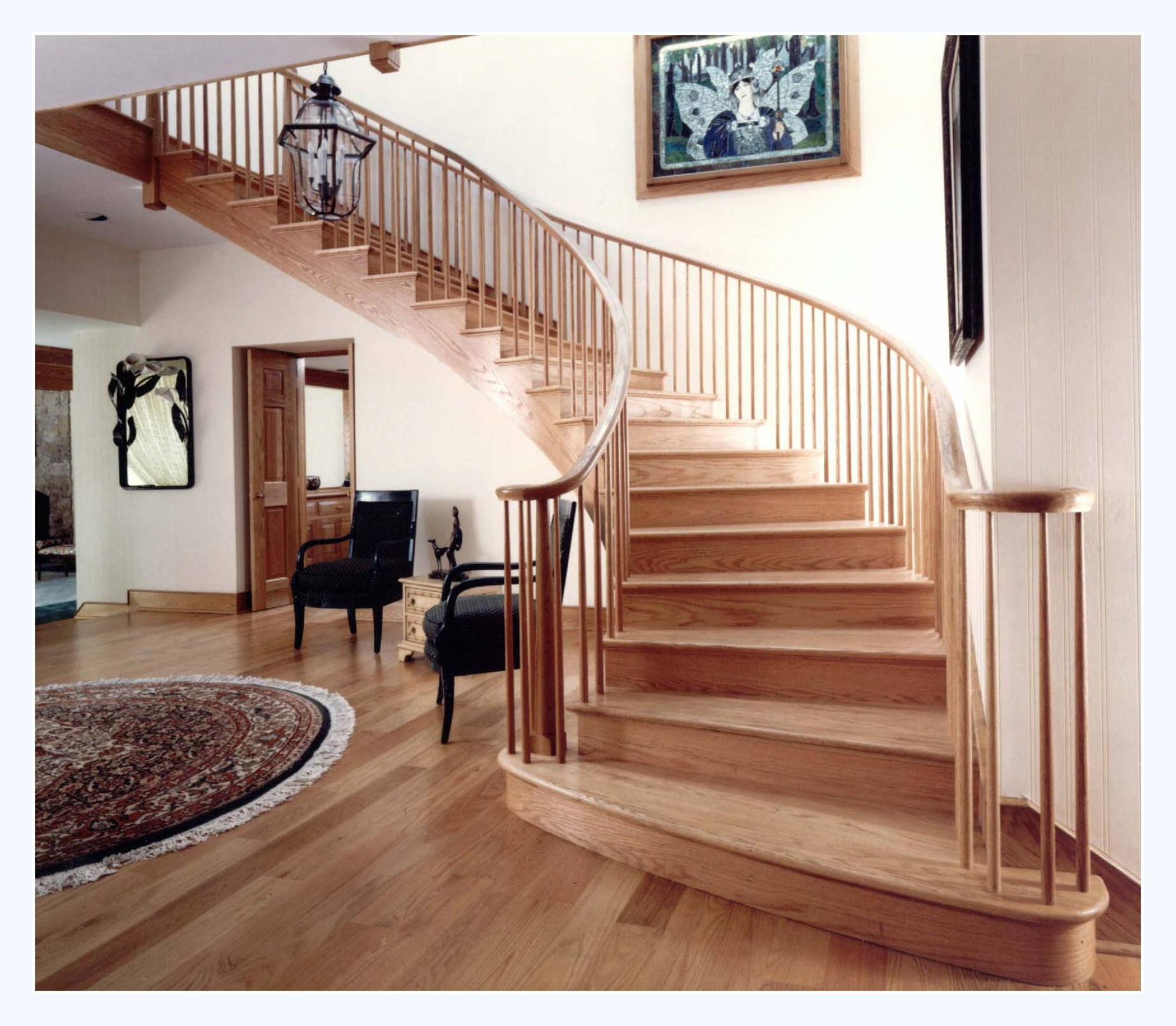 25 stair design ideas for your home for New construction design ideas