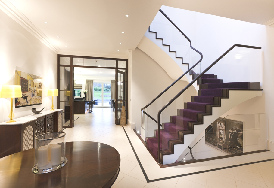 25 stair design ideas for your home for Modern house stairs