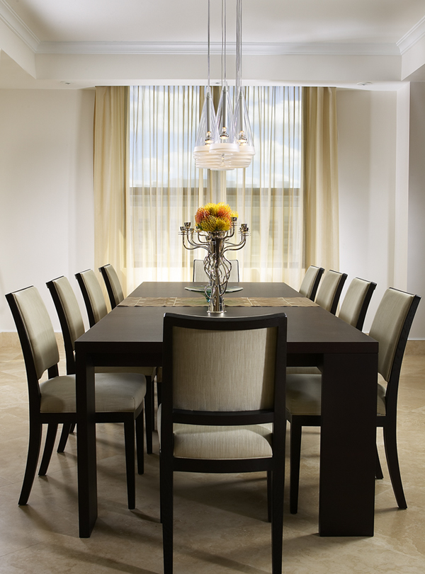 25 dining room ideas for your home for Simple dining room table decor