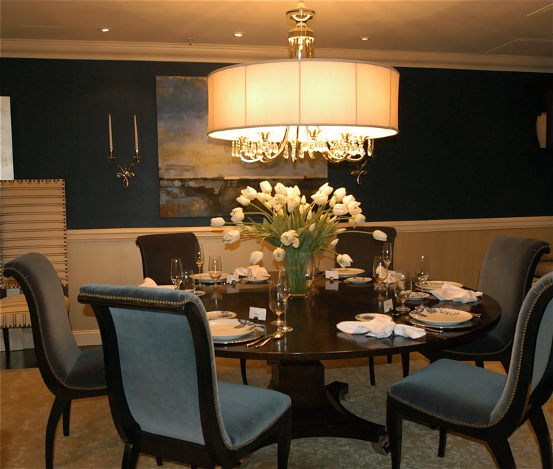 25 dining room ideas for your home for Decorating ideas large dining room wall