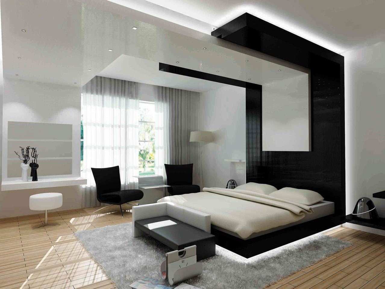 25 bedroom design ideas for your home for Bedroom bedroom ideas