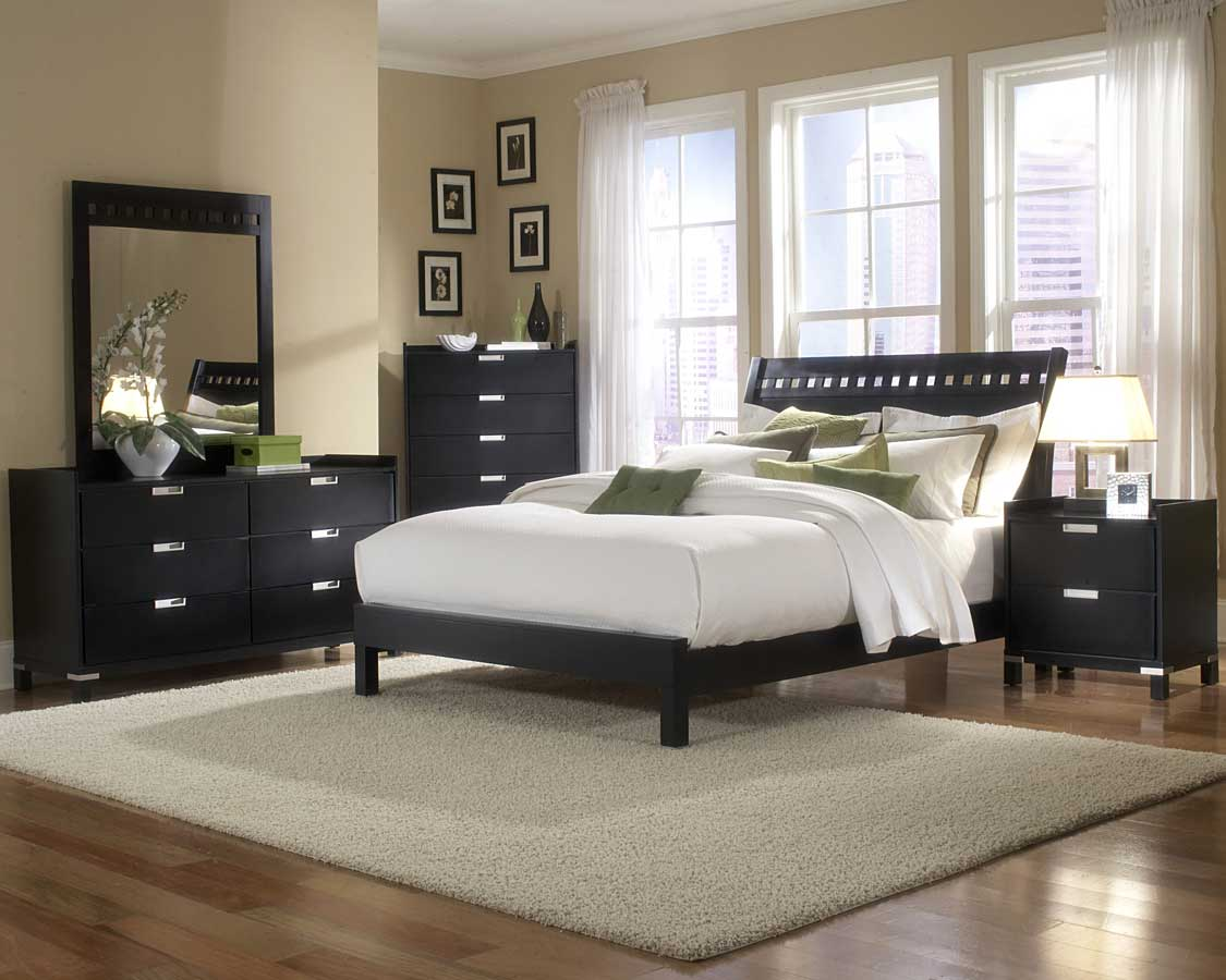 25 bedroom design ideas for your home Bedroom design ideas with black furniture