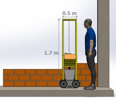 Bricklaying Robot 2