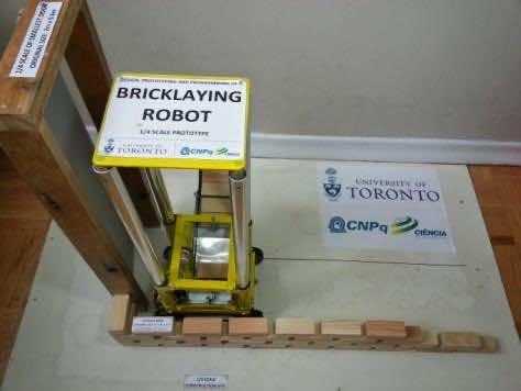 Bricklaying Robot 3