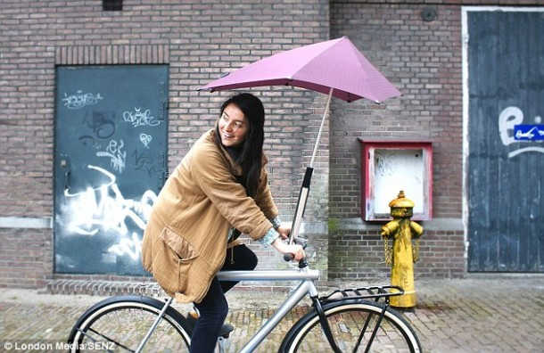 Brolly Umbrella cyclist Senz