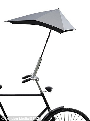 Brolly Umbrella cyclist Senz2