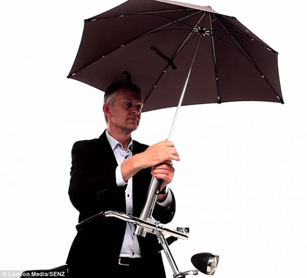 Brolly Umbrella cyclist Senz4