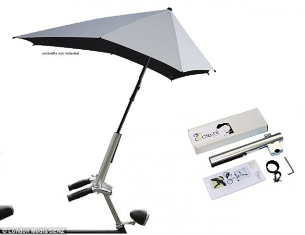 Brolly Umbrella cyclist Senz6