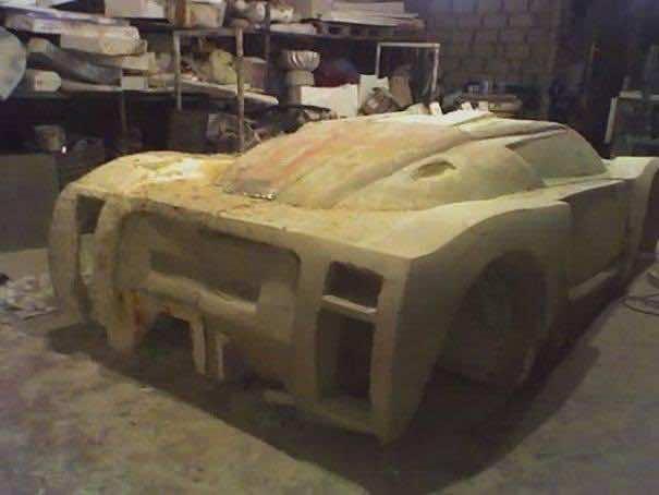 DIY Racing Supercar2