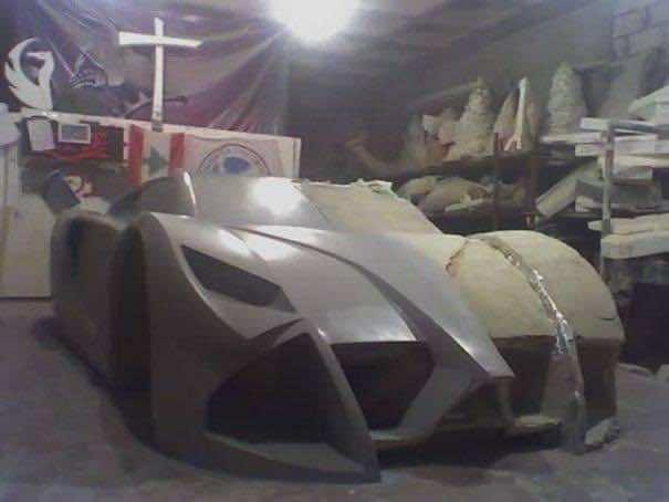 DIY Racing Supercar4