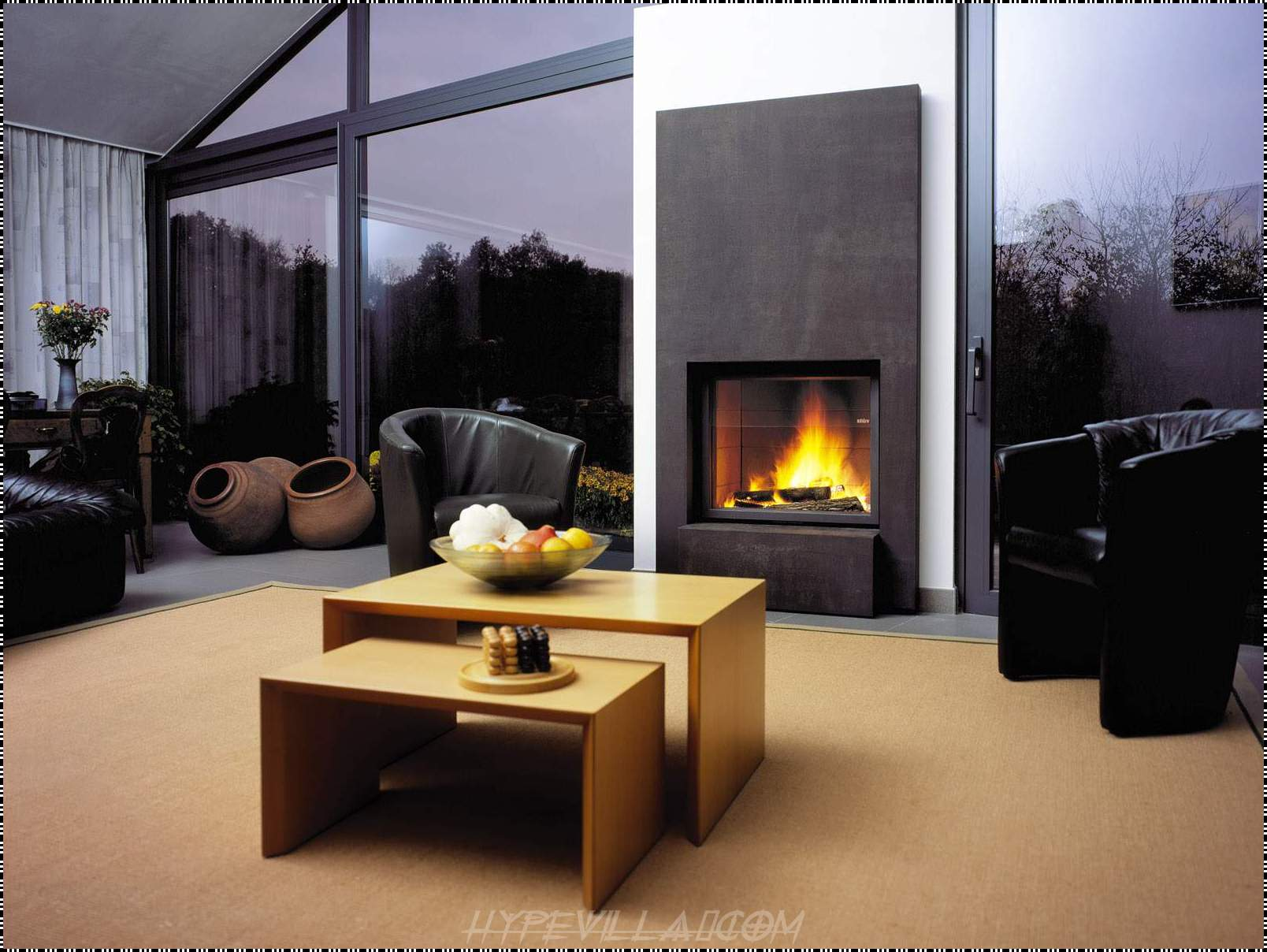 25 hot fireplace design ideas for your house Home decorating ideas living room with fireplace