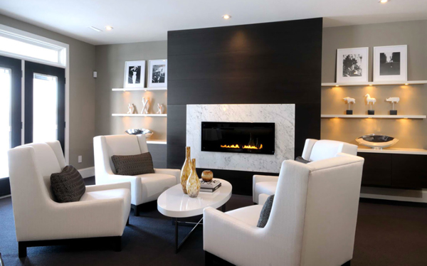 FIREPLACE DESIGN IDEAS (20)