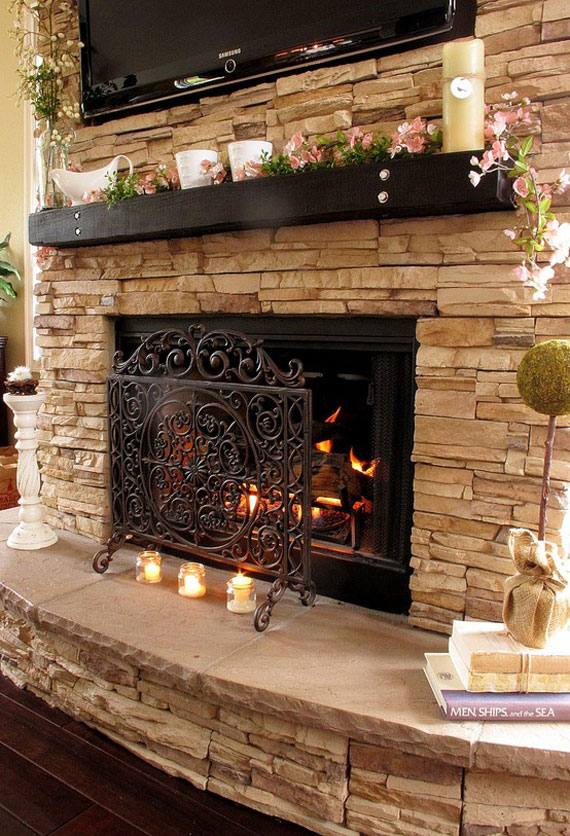 FIREPLACE DESIGN IDEAS (8)