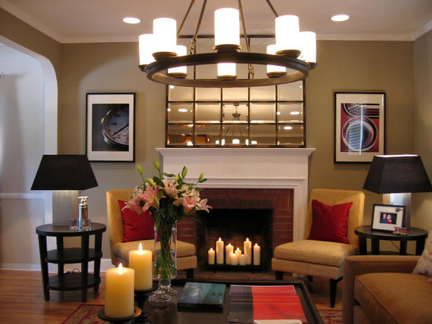 25 hot fireplace design ideas for your house for How to decorate living room with fireplace