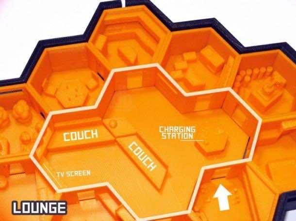 Hexagonal Houses for Residence in Mars 2