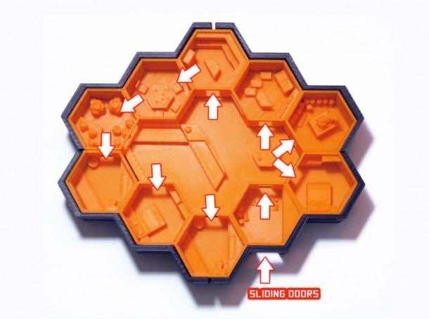 Hexagonal Houses for Residence in Mars3
