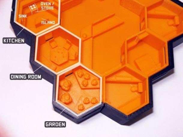 Hexagonal Houses for Residence in Mars4