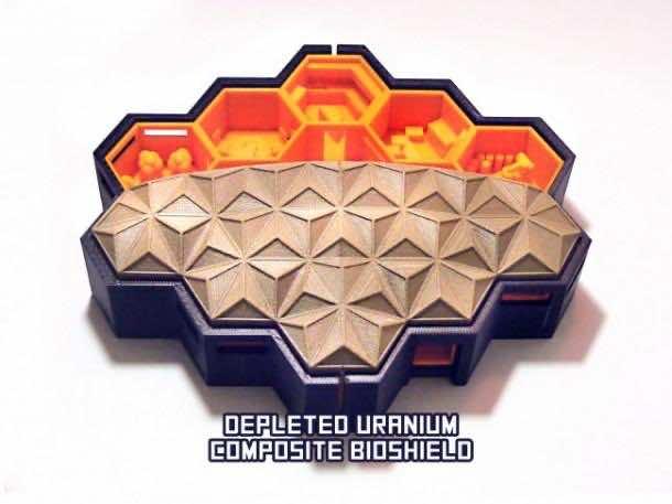 Hexagonal Houses for Residence in Mars6