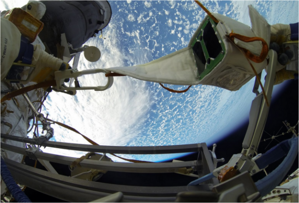 Images From Space – Deploying nano-Satellite10