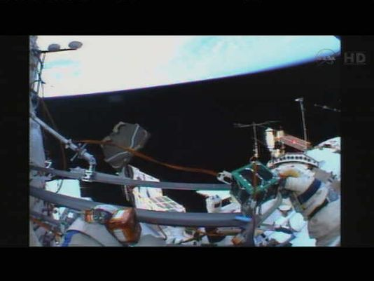 Images From Space – Deploying nano-Satellite5