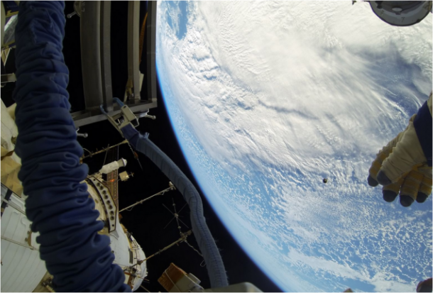 Images From Space – Deploying nano-Satellite7