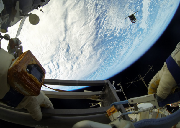 Images From Space – Deploying nano-Satellite8