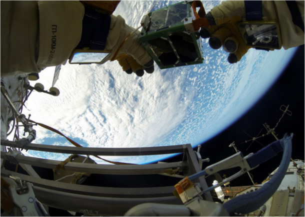 Images From Space – Deploying nano-Satellite9