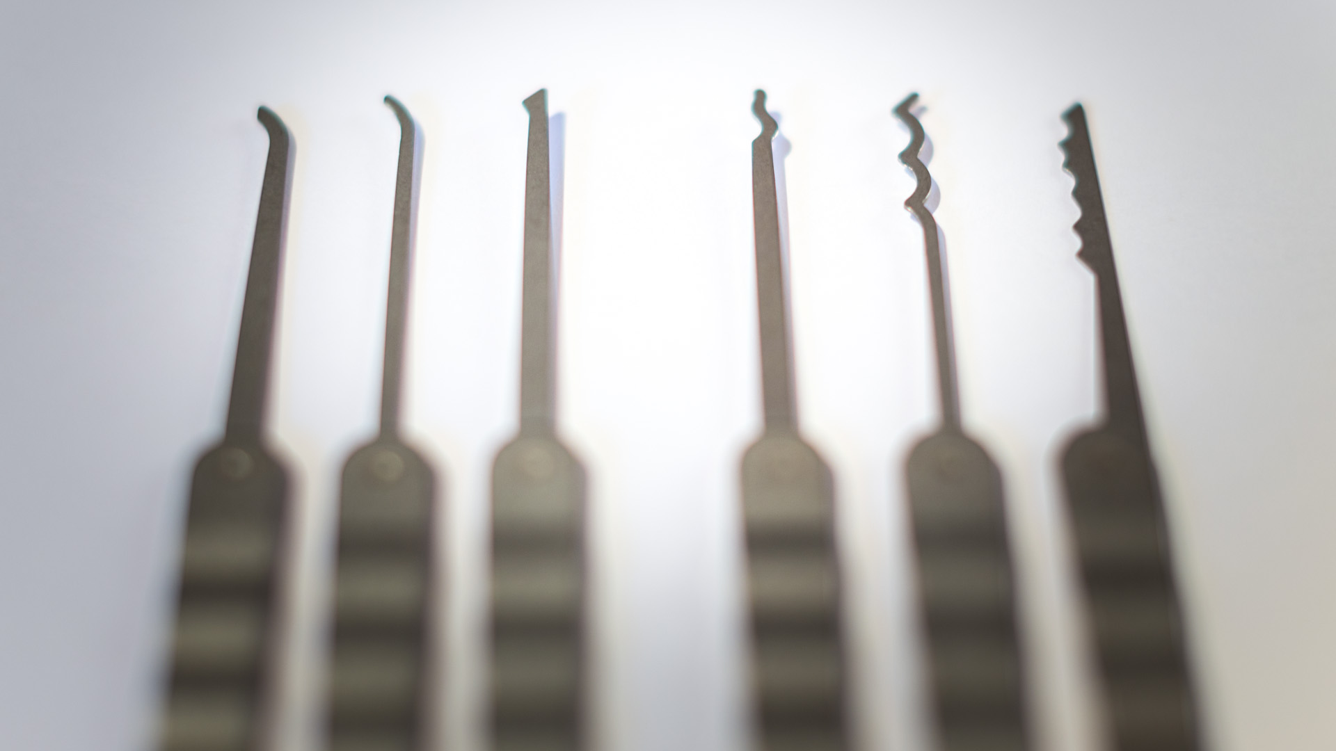 Lock Picking Set from Paperclips
