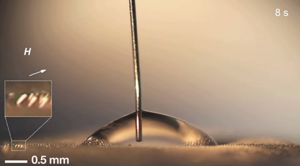 Magnetic microhair from MIT3