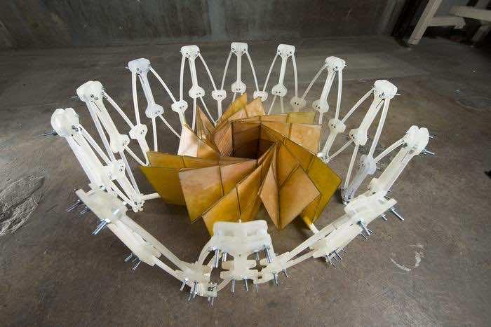 Origami inspired Solar panel
