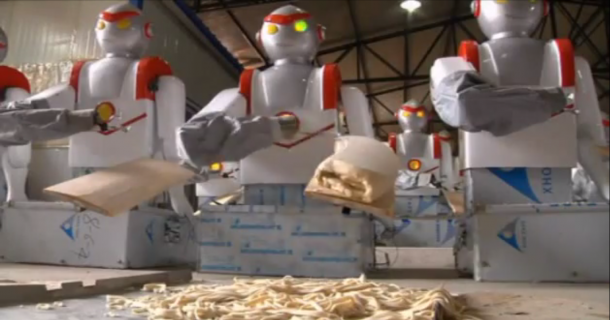 Robots working in Restaurants in China7
