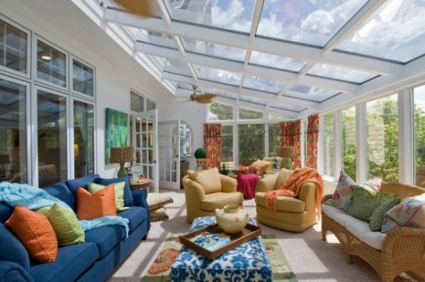 SUNROOM DESIGN IDEAS (19)