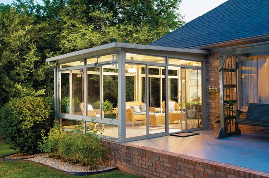 25 awesome ideas for a bright sunroom Solarium design