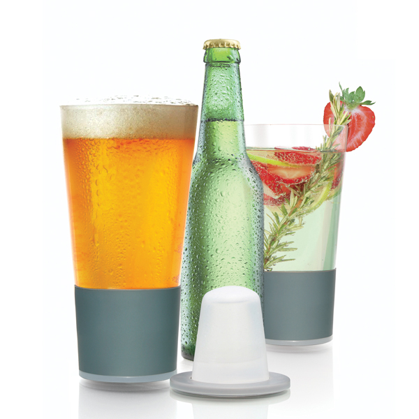 Self-Chilling Glass for Your Drinks