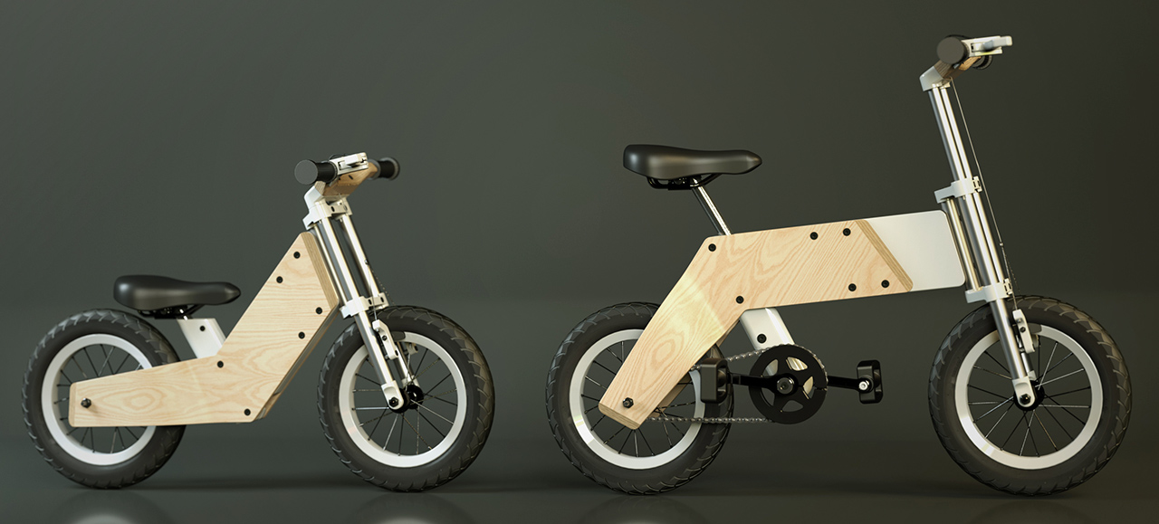 Miilo Is A New Kids Bike That Grows Up With Your Child
