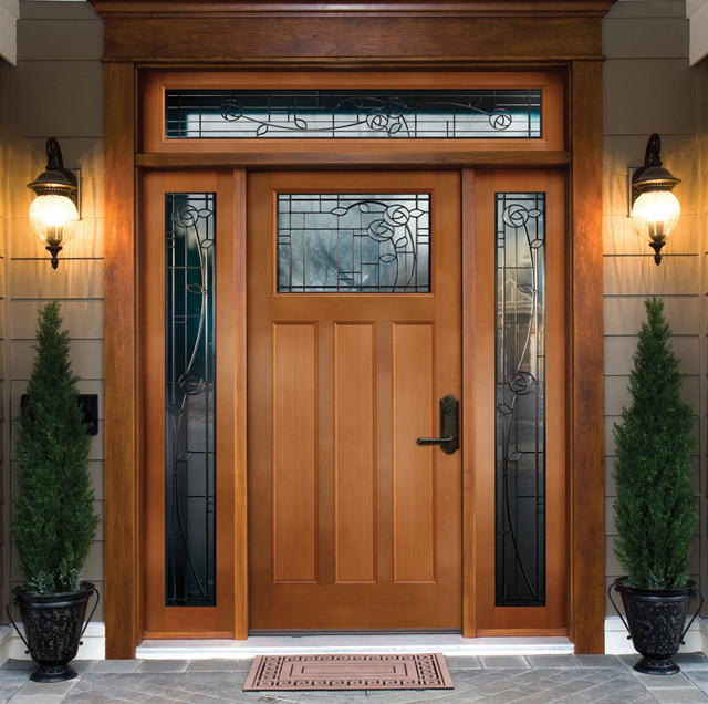 25 inspiring door design ideas for your home Home exterior front design