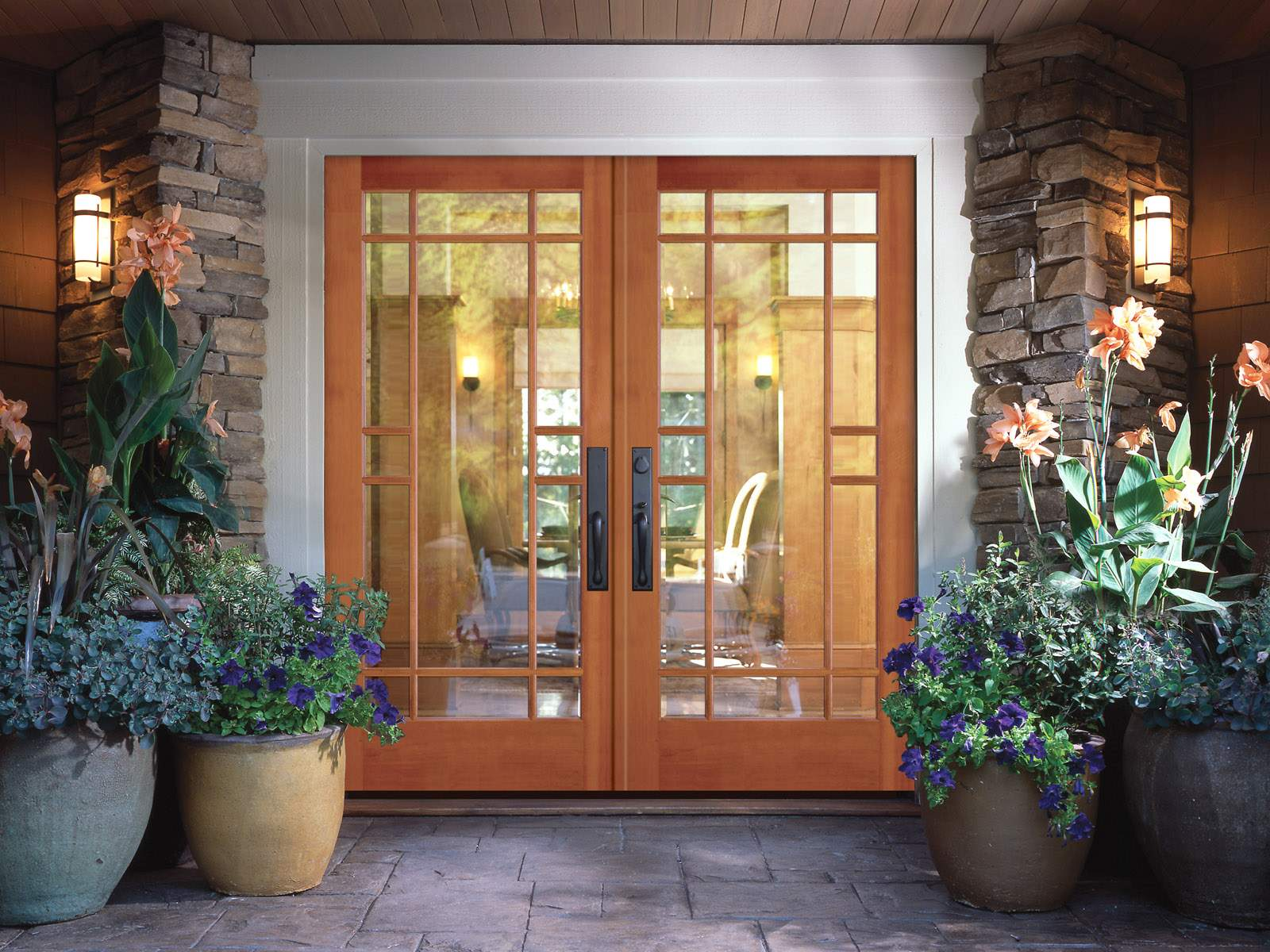 25 inspiring door design ideas for your home Front entrance ideas interior