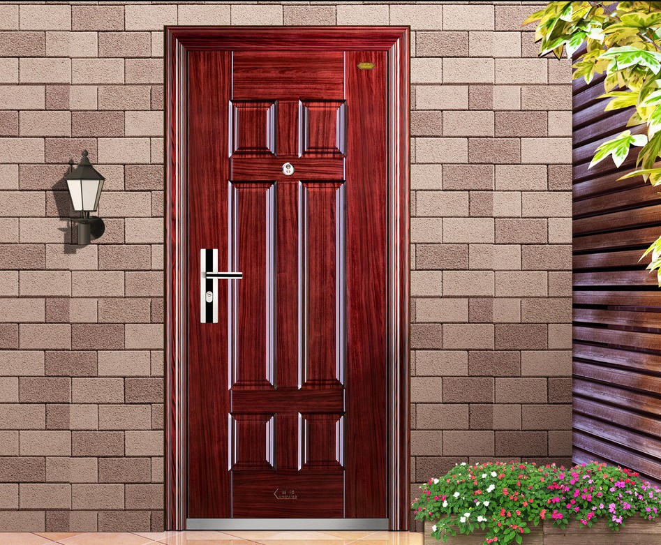 25 inspiring door design ideas for your home for Small house front door ideas