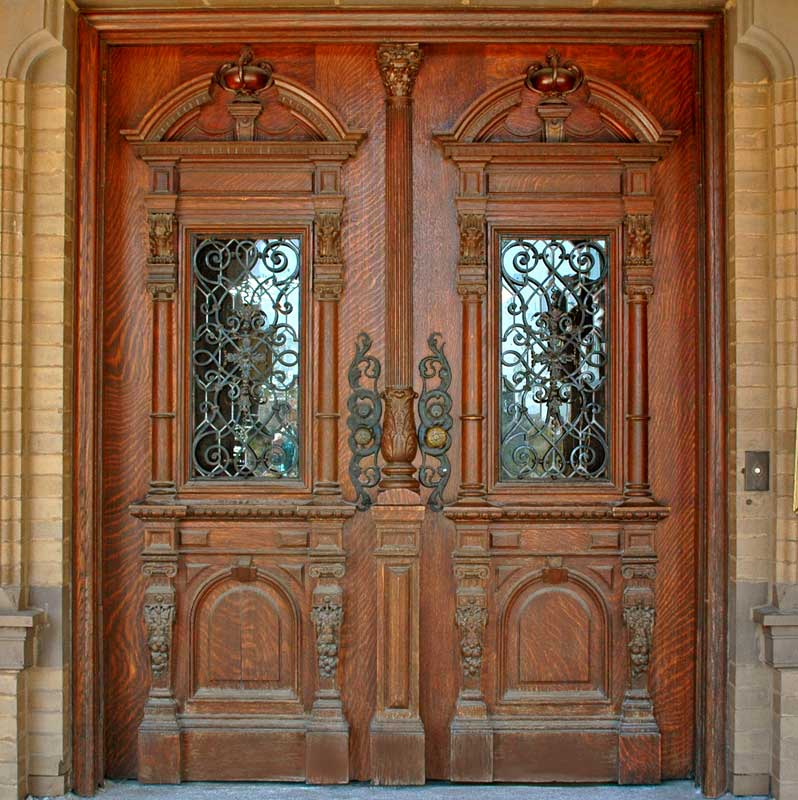 25 inspiring door design ideas for your home for French main door designs