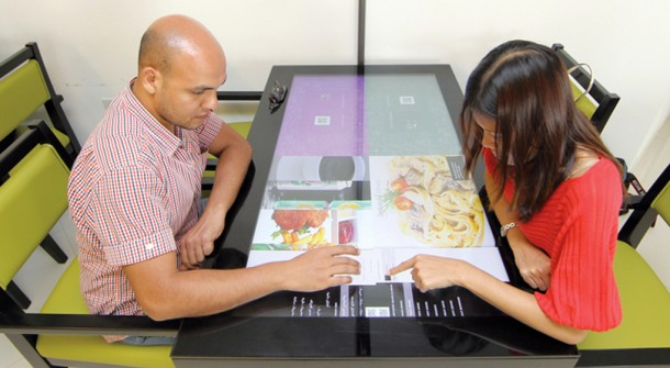 interactive resturant technology