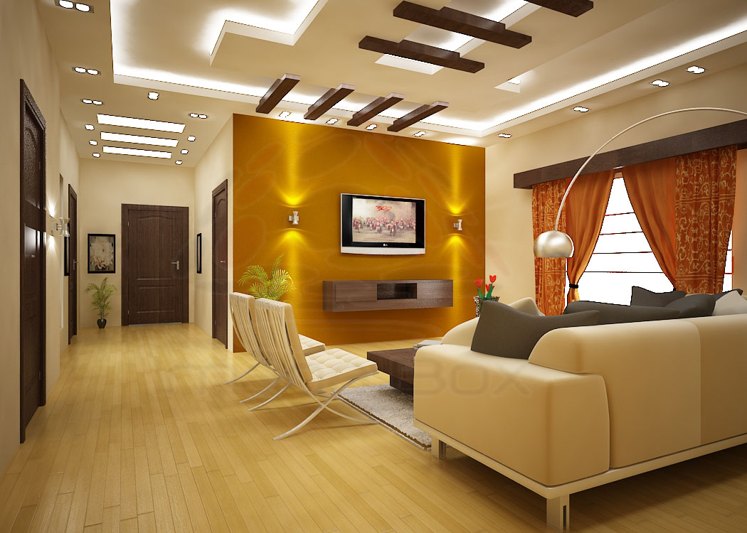 Classic Decoration Flat Living Room