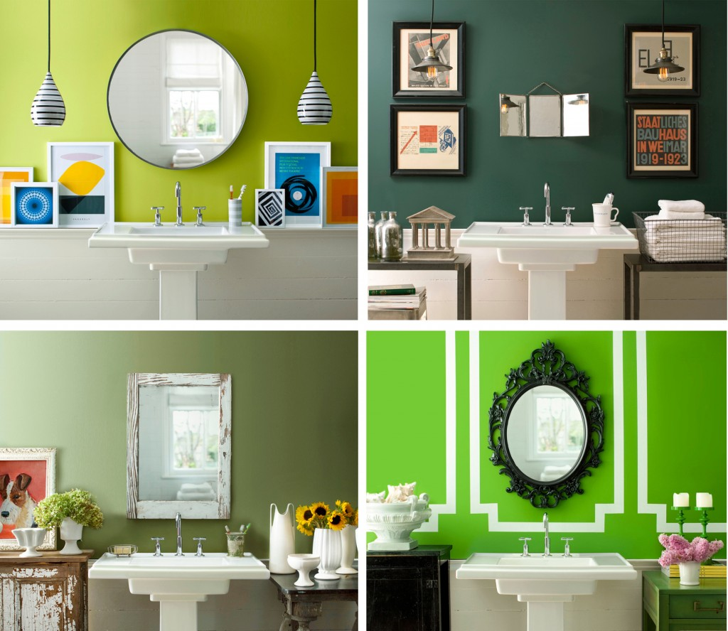 25 paint color ideas for your home for Bathroom color theme ideas