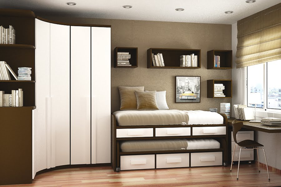 sapce savign ideas  25. 25 Space Saving Ideas For Your Bedroom