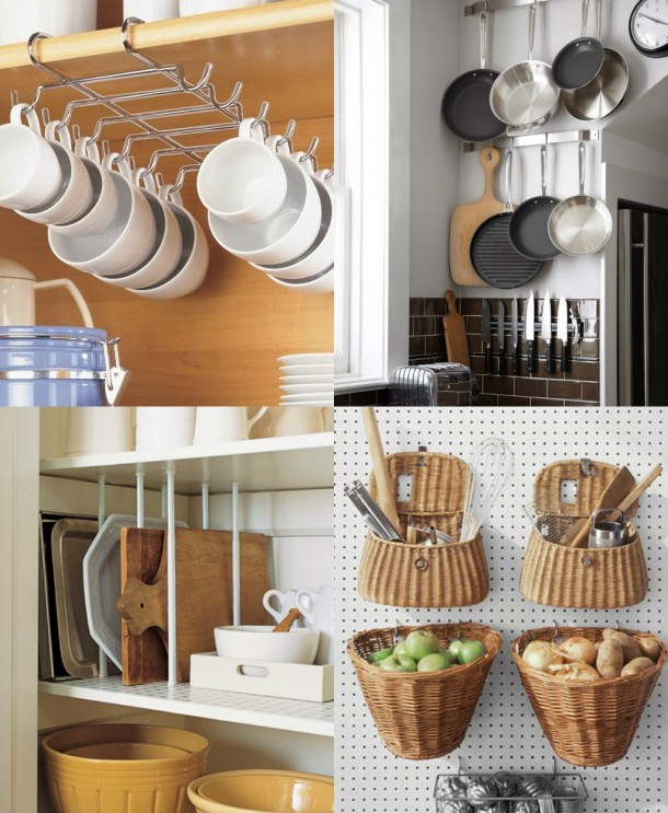 27 Space Saving Design Ideas For Small Kitchens: 25 Cool Space Saving Ideas For Your Kitchen