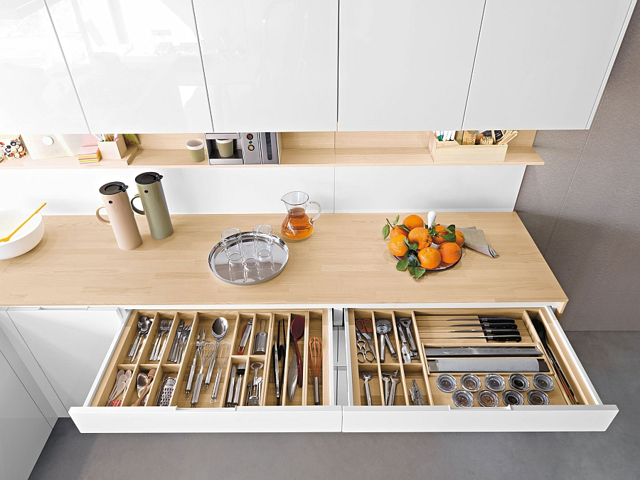 25 cool space saving ideas for your kitchen Kitchen storage cabinets for small spaces