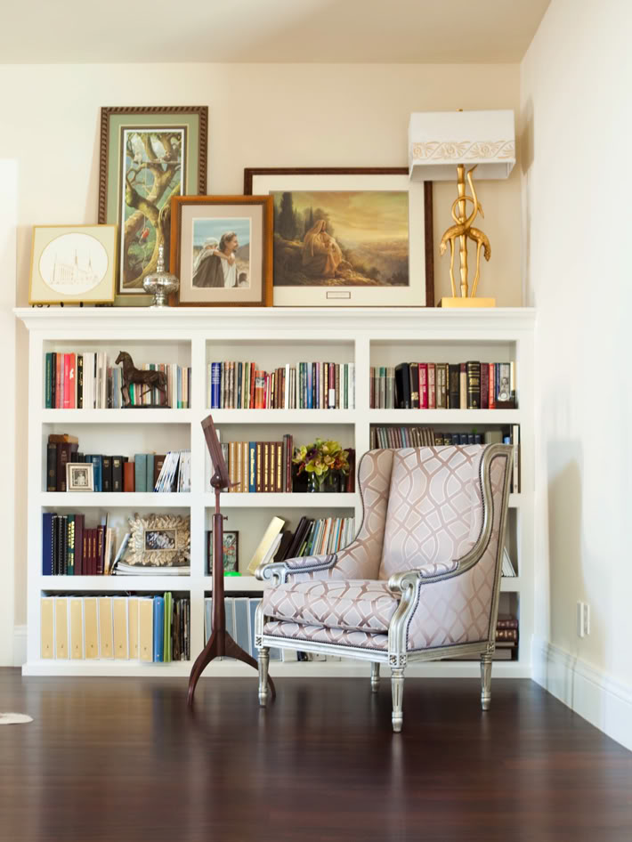 25 wall decoration ideas for your home Reading nook in living room